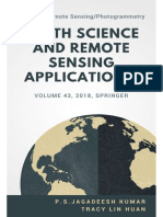 Earth Science and Remote Sensing Applications, Vol 43, 2018, Springer