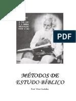 Apostila de Métodos de Estudo Bíblico-Jan, 2011-2