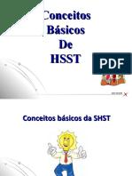 Conceitos básicos SHST