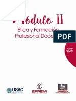 Moìdulo II Curso Eìtica y Form. Prof