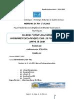 Elaboration d'Un Modele Hydrom - Bouadila Abdelmounim_2727