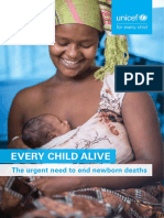 Every Child Alive the Urgent Need to End Newborn Deaths