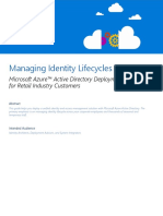 01 - Azure Active Directory Retail Deployment Guide - Managing Identity Lifecycles at Scale With Azure AD