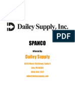 DaileySupply SPANCO Catalog