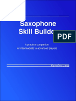 Saxophone Skill Builder(V2)