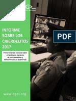 Primer Informe Nacional Sobre El Fenomeno de Delitos Informaticos en Guatemala