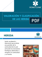 5.-Valoración y Clasificación de Las Heridas