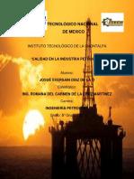 Calidad en La Industria Petrolera