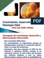 Crecimiento, desarrollo y fisiología fetal