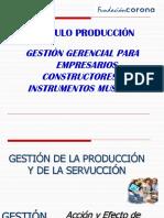 GESTIÓN DE LA PRODUCCIÓN Y DE LA SERVUCCIÓN