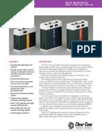 Clear-Com RS-500 Series Datasheet