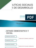 Politic as Social Es Factor Des Arrollo