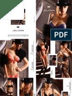 "2011 ""CLANDESTNE"" Exclusive/Luxury Spring-Summer Collection by  Jolidon Designer"
