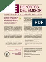 Lombana y Duarte - Como Interpretar Los Estados Financieros de Un Banco Central