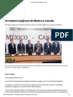 20-02-18 Se reúnen Congresos de México y Canadá