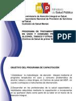 Programa de Tratamiento Ambulatorio- Funciones