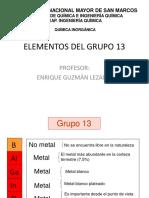 Elementos Del Grupo 13 Final