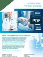Bovie International Product Catalog 55 275 001 r0