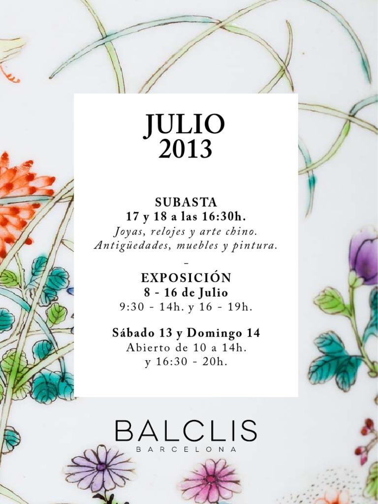 34cbe9193af2 Balclis Julio 2013