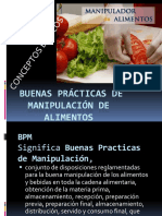 Buenas Prácticas de Manipulación de Alimentos