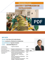 1.- Importancia Localizacion y Distribucion de Planta