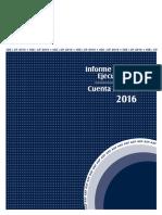 Informe General Ejecutivo de la Cuenta Pública 2016