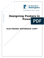 Creating a Poster in PowerPoint