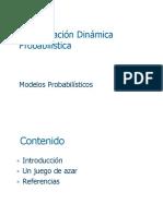 Programación Dinámica Probabilística