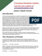 Caveman to Chemist Projects_ Potash