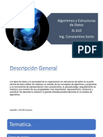 Algoritmos y Estructuras de Datos 1