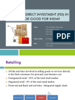 Is FDI in Retail Sector Good for India