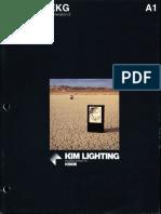 Kim Lighting EKG Gen. 2 Series Brochure 1983