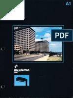 Kim Lighting EKG Gen. 2 Series Brochure 1986