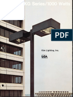 Kim Lighting EKG Phase III Series Brochure 1973