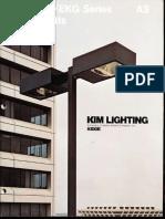 Kim Lighting EKG Phase III Series Brochure 1977