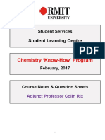Chemistry KnowHow Booklet 2017