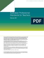 australian-professional-standands-for-teachers-20171006