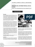 Estandarización Del Informe Pericial en Documentología