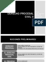 Derecho Procesal Civil II MAAV