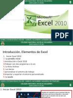 Diapositivas de Excel