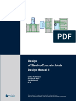 Steel to Concrete Joints Design-manual II En
