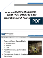 GFSI & Your Plant Operations