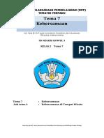 Rpp tema 7  kelas 2 edisi revisi 2017
