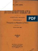 AUTO-SOROTHERAPIA - José Pinto Cabral