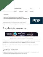 El Producto de Una Empresa _ 4ps Del Marketing Mix _ Emprende Pyme