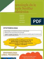 Epistemología de La Terapia Familiar Sistémica
