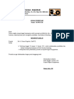 Contoh Surat Pribadi Dan Instansi 1