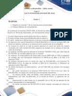Taller Anexo Fase 2 Analizar La Terminologia Principal Del Curso