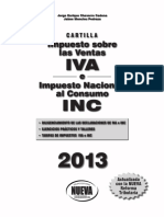 Cartilla IVA 2013