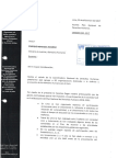 Carta a Ministro de Justicia